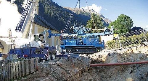Telekraneinsatz in Ischgl