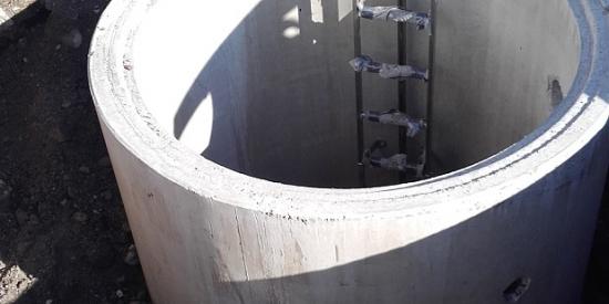 Monolithischer Brunnenschacht